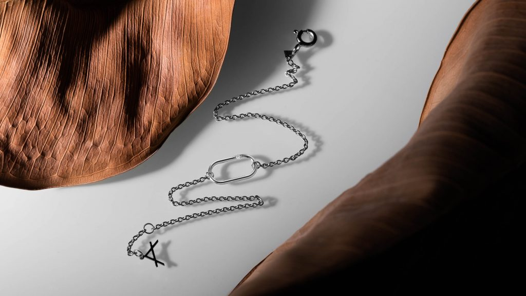 Still life photography of jewellery