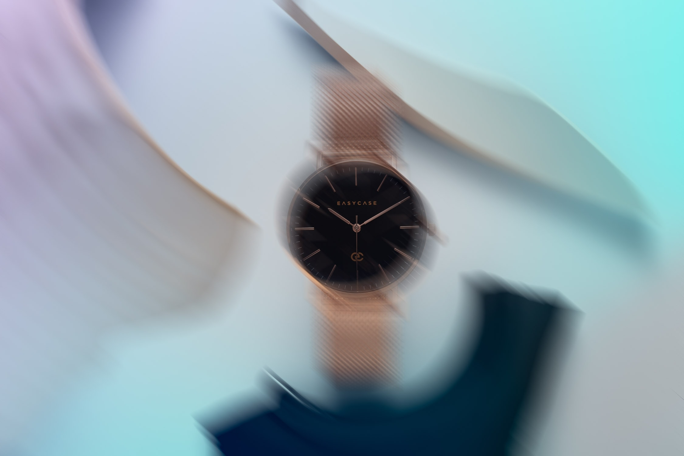 Creative watch photography for Easycase