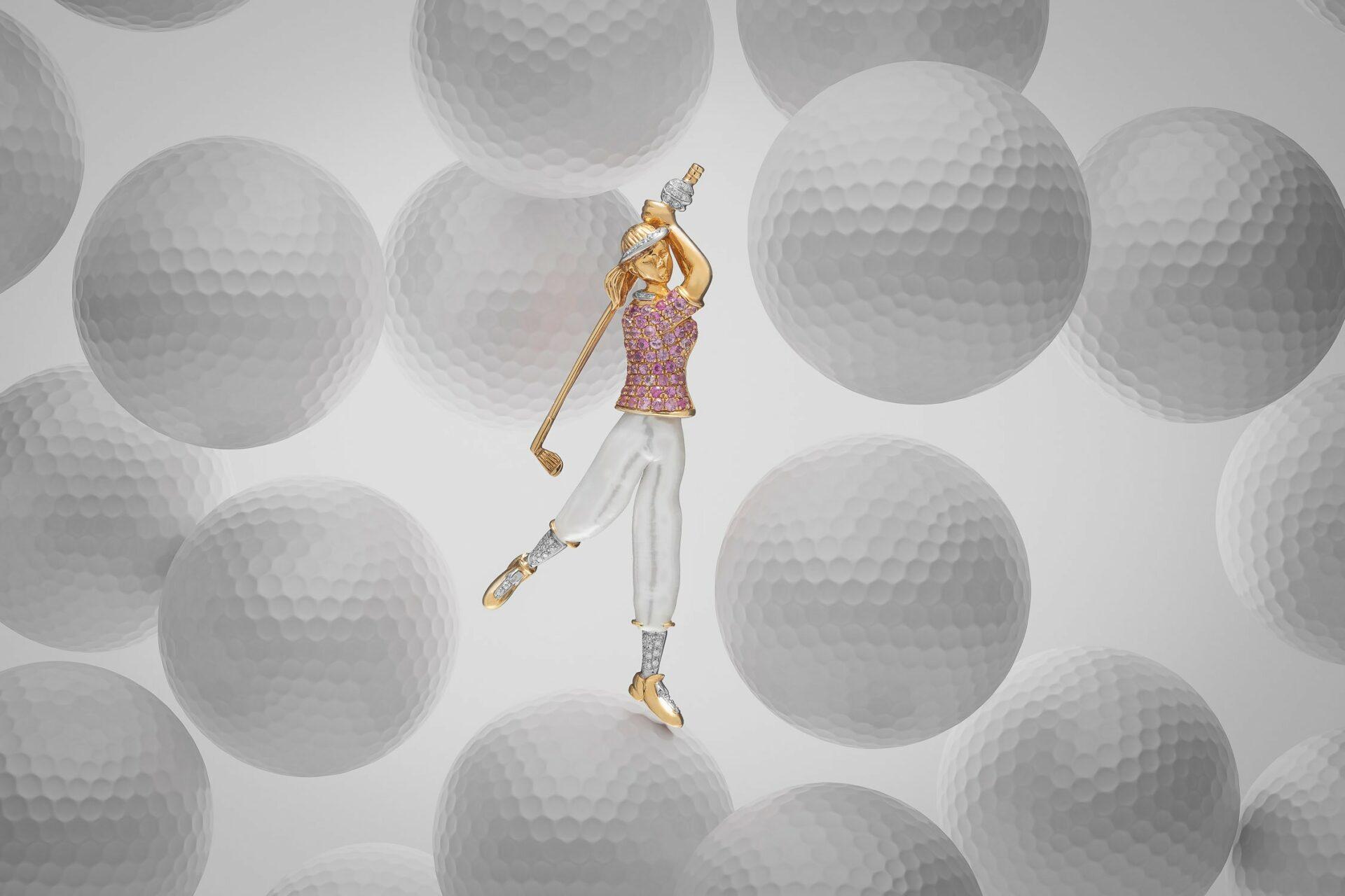 Golfer - CGI Jewelry