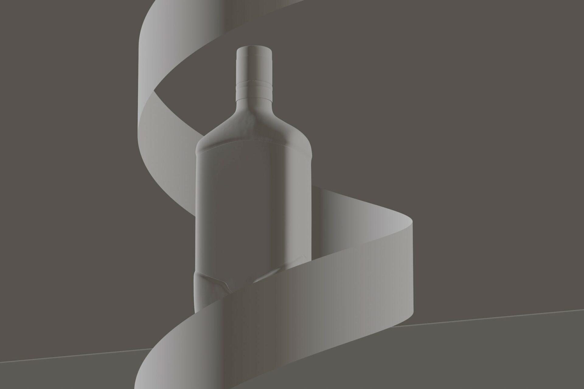 CGI whisky photography