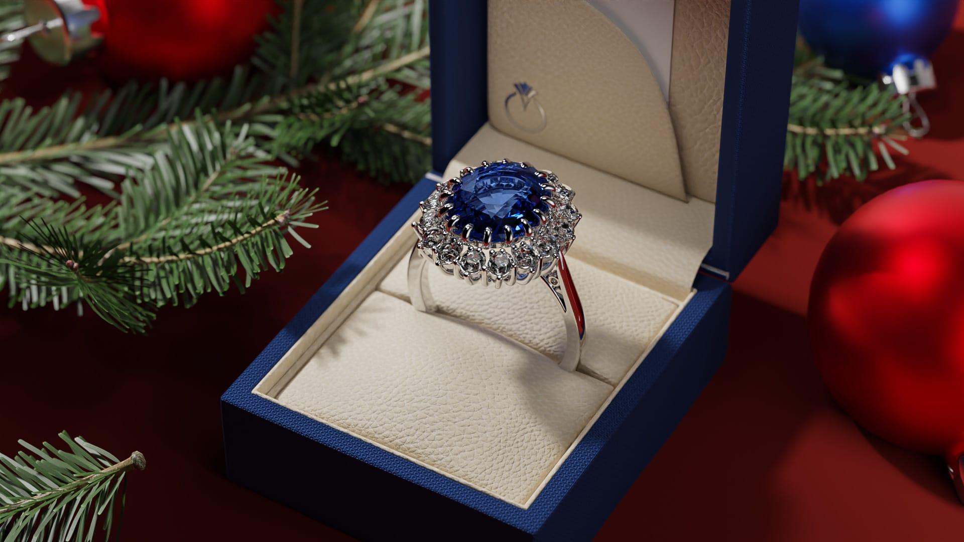 Christmas, jewelry hero image